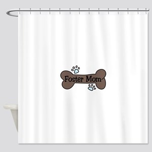 Foster Mom Shower Curtain