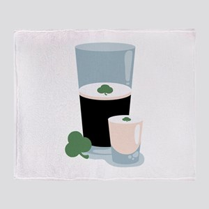 St. Patricks Irish Car Bomb Throw Blanket