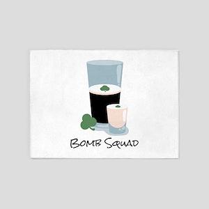 Bomb Squad 5'x7'Area Rug