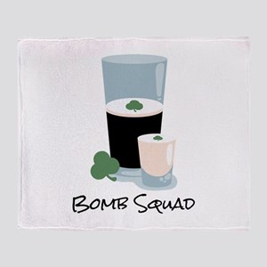 Bomb Squad Throw Blanket