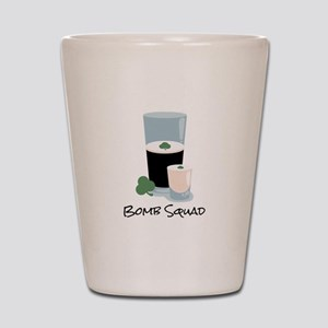 Bomb Squad Shot Glass