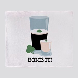 Bomb It! Throw Blanket