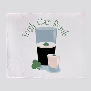 Irish Car Bomb Throw Blanket