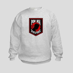 POW MIA (Red) Kids Sweatshirt