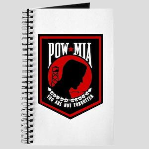 POW MIA (Red) Journal