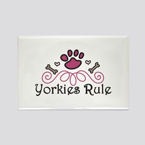 Yorkies Rule Magnets