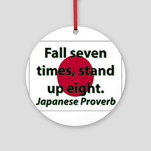 Fall Seven Times Round Ornament