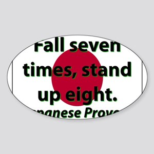 Fall Seven Times Sticker