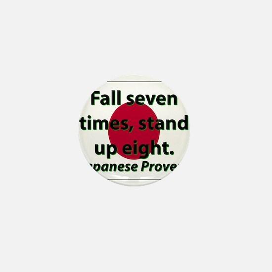 Fall Seven Times Mini Button