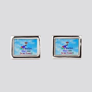 I'm a Realtor. What's Your S Rectangular Cufflinks
