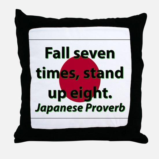 Fall Seven Times Throw Pillow