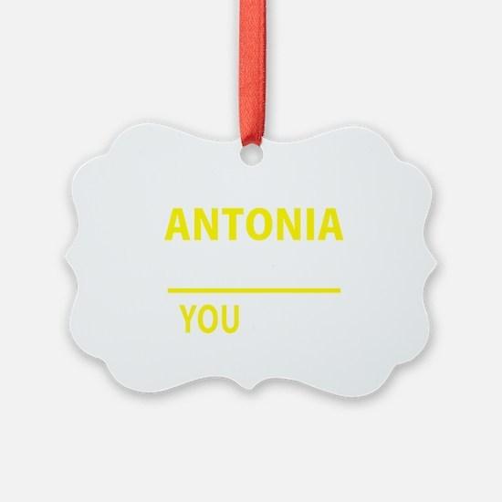 Unique Antonia Ornament