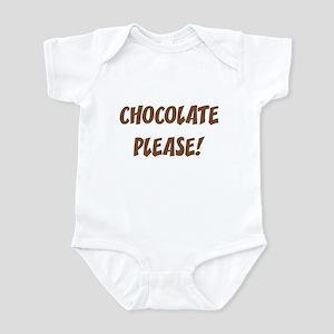Chocolate Please Infant Bodysuit