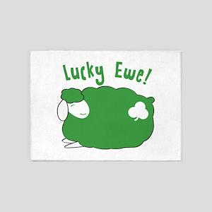 Lucky Ewe! 5'x7'Area Rug