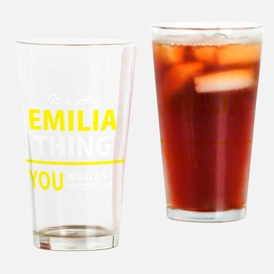 Unique Emilia Drinking Glass