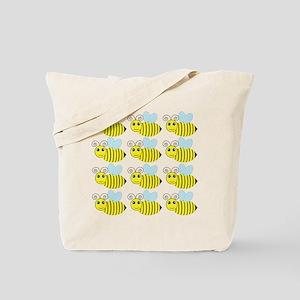 Cute Honey Bees Tote Bag