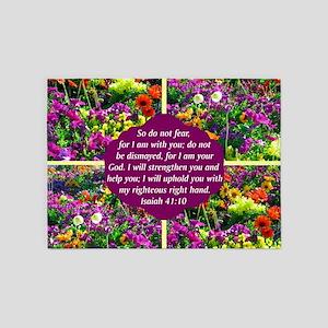 ISAIAH 41:10 5'x7'Area Rug