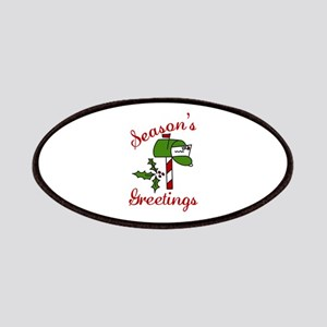 Seasons Greetings Patches