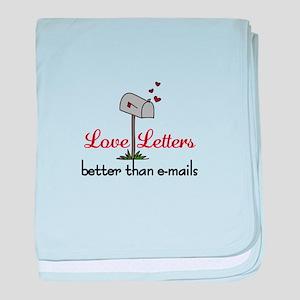 Love Letters baby blanket