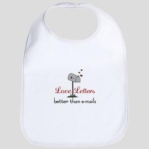 Love Letters Bib