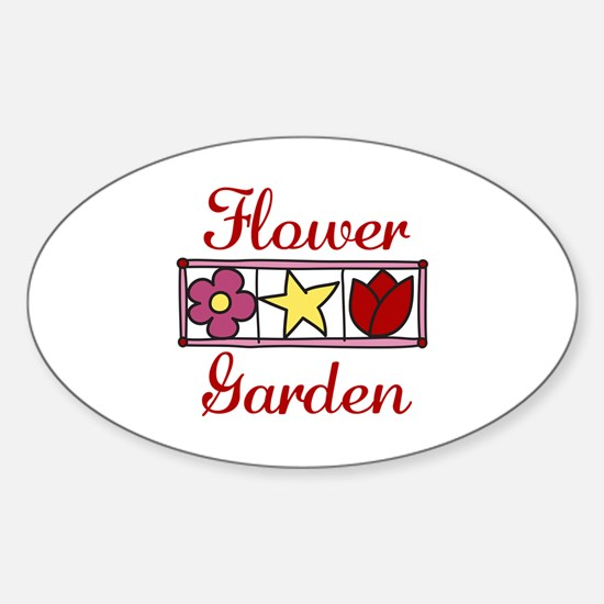 Flower Garden Decal