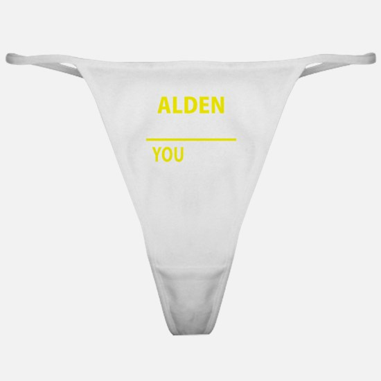 Unique Alden Classic Thong