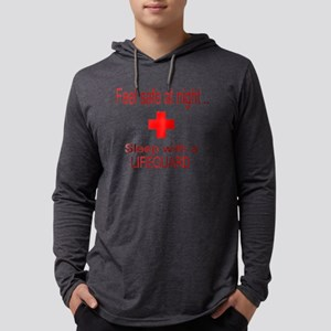 3-feel safe at night lifeguard1 Long Sleeve T-