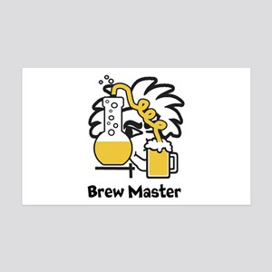 Custom Brew Master Wall Decal