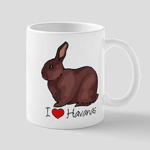 I Heart Havana Rabbits Mugs