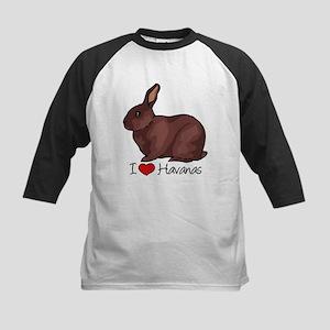 I Heart Havana Rabbits Baseball Jersey