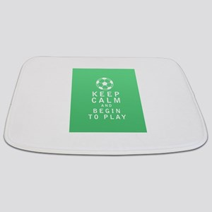 Keep Calm and Begin to Play - FULL Bathmat