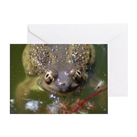 Spadefoot Toad Greeting Card