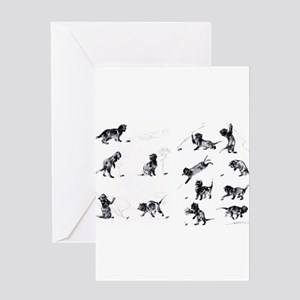 Steinlen Cultural Cats Greeting Cards