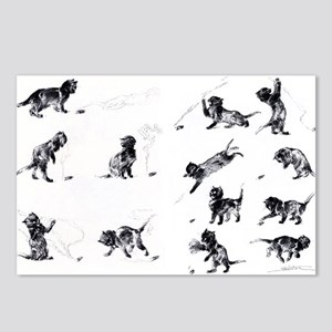 Steinlen Cultural Cats Postcards (Package of 8)