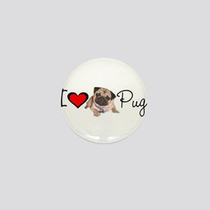 charm_lv pugs super link Mini Button