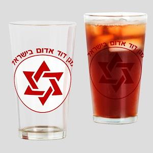 Magen David Adom Drinking Glass
