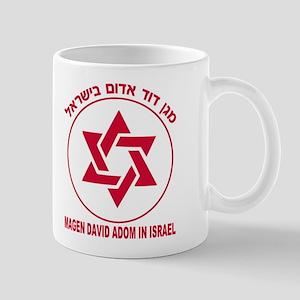 Magen David Adom Mug Mugs