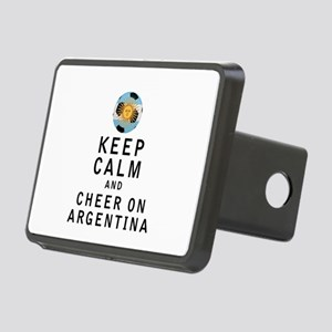 Keep Calm and Cheer On Argentina Hitch Cover