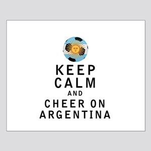Keep Calm and Cheer On Argentina Posters