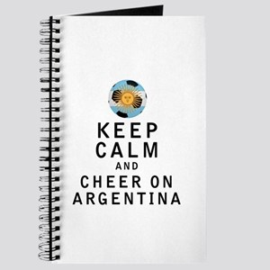 Keep Calm and Cheer On Argentina Journal