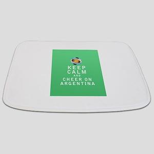 Keep Calm and Cheer On Argentina - FULL Bathmat