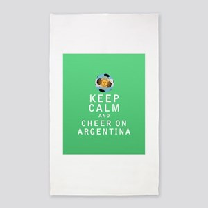 Keep Calm and Cheer On Argentina - FULL 3'x5' Area