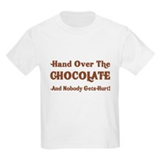 Hand Over The Chocolate Kids Light T-Shirt