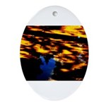 Arrival of darkness Ornament (Oval)
