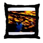 Arrival of darkness Throw Pillow