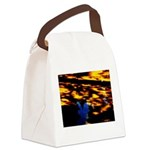 Arrival of darkness Canvas Lunch Bag