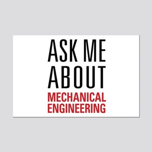 Mechanical Engineering Mini Poster Print