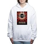 Thomas Jefferson Tea Party Women's Hooded Sweatshi