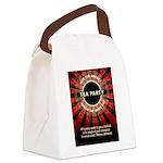 Thomas Jefferson Tea Party Canvas Lunch Bag