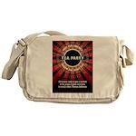 Thomas Jefferson Tea Party Messenger Bag